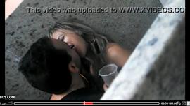 سكس في مرحاض و شاب يمارس الجنس مع حبيبته