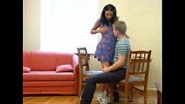 سكس نيك روسي ساخن مع شاب و زميلته اثناء الدراسة لما تشتعل الشهوة الجنسية