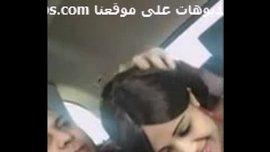 مص زب عربي مزة لبنانية جميلة تمص زب حبيبها في السياره