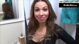 يزنق زوجة ابوه وينيكها في الحمام مترجم | سكس نيك عنيف