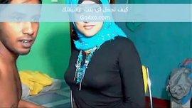 محجبة جزائرية صاروخ مع عشيقها في الفراش الساخن