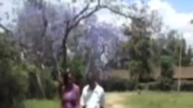 مقابلة الديك الأفريقي الذي تم إحباطه المستند تم القبض عليه متلبسًا